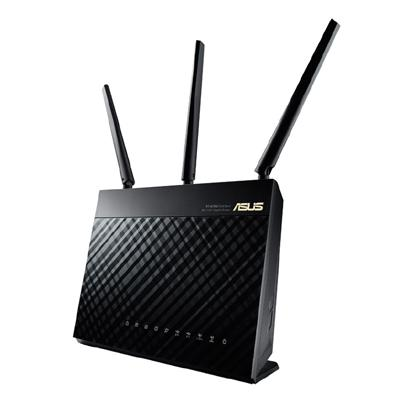 asus asus router w/l 1300mbps rt-ac68u  - click for full details or buy