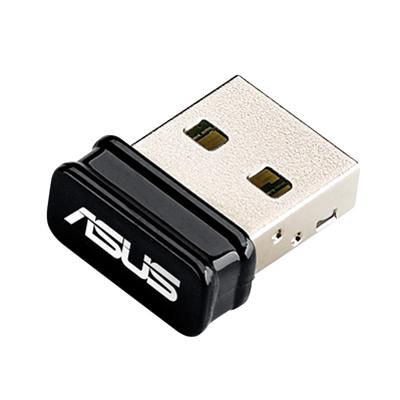 asus asus nic usb w/l 150mbps usb-n10 nano  - click for full details or buy