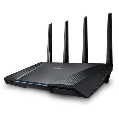 asus asus router w/l 1734mbps rt-ac87u  - click for full details or buy
