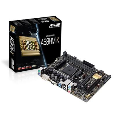 asus asus fm2+ a68hm-k m-atx  - click for full details or buy