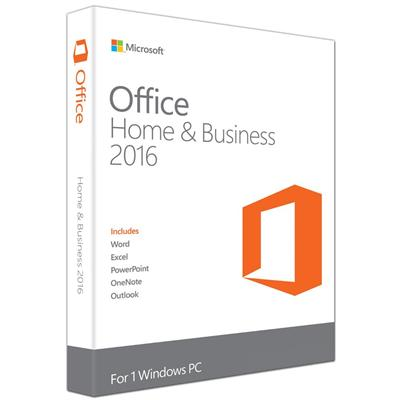 microsoft office home and business 2016 1pc mlk  - click for full details or buy