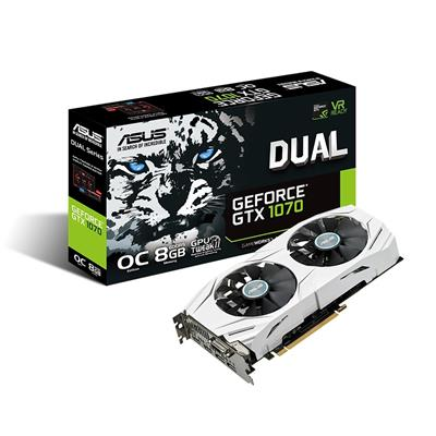 asus asus gef gtx 1070 8gb dual oc  - click for full details or buy