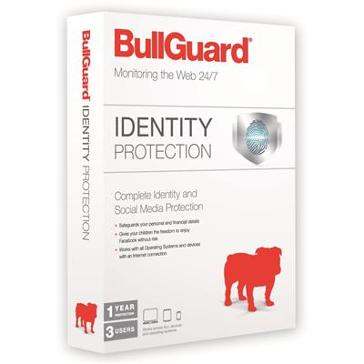 bullguard bullguard identity protection 1y/3u  - click for full details or buy