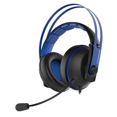 asus asus cerberus v2 blue gaming headset  - click for full details or buy