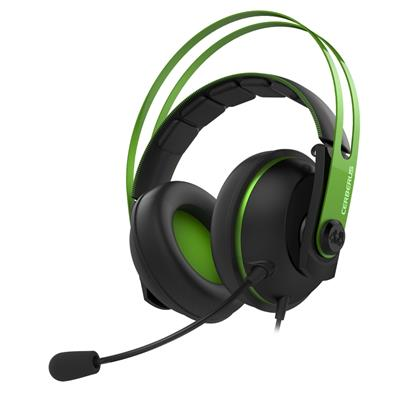 asus asus cerberus v2 green gaming headset  - click for full details or buy