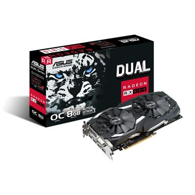 asus asus radeon rx 580 8gb dual oc  - click for full details or buy