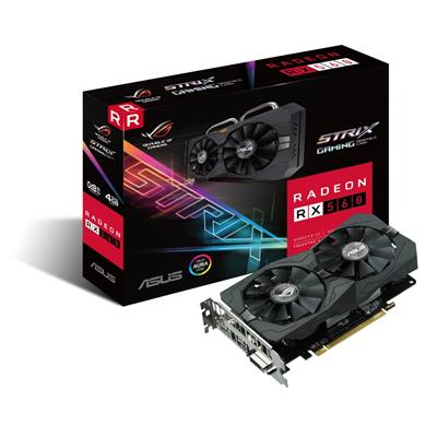 asus asus radeon rx 560 4gb strix gaming rog  - click for full details or buy