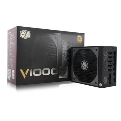 coolermaster cooler master 1000w gold modular v1000  - click for full details or buy