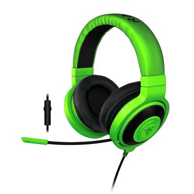 razer razer kraken pro hs green retail return  - click for full details or buy