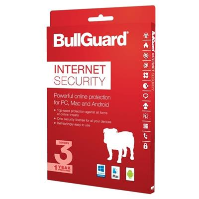 bullguard bullguard bg1806 internet security 2018  - click for full details or buy