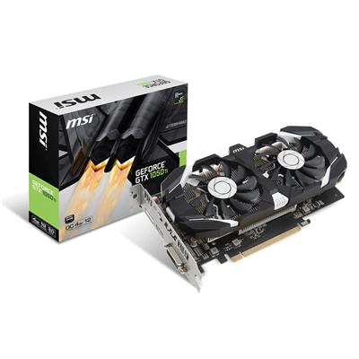msi msi gef gtx 1050 ti 4gb 4gt oc  - click for full details or buy