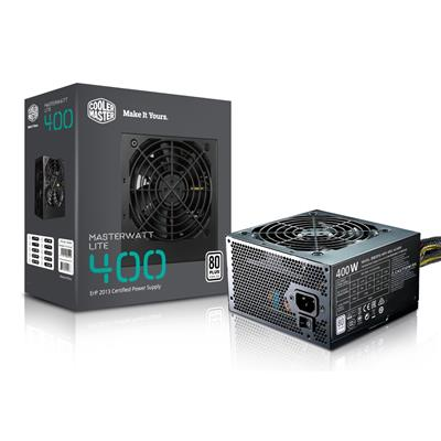 coolermaster cooler master 400w white standard lite  - click for full details or buy