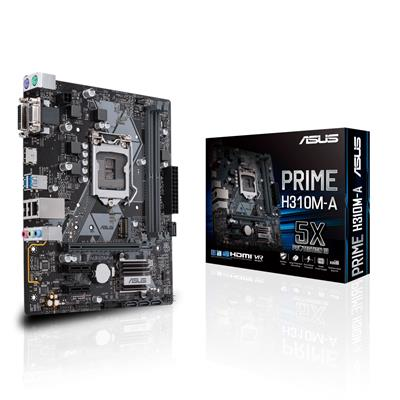 asus asus 1151 prime h310m-a m-atx  - click for full details or buy