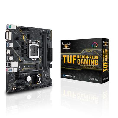 asus asus 1151 tuf h310m-plus gaming m-atx  - click for full details or buy
