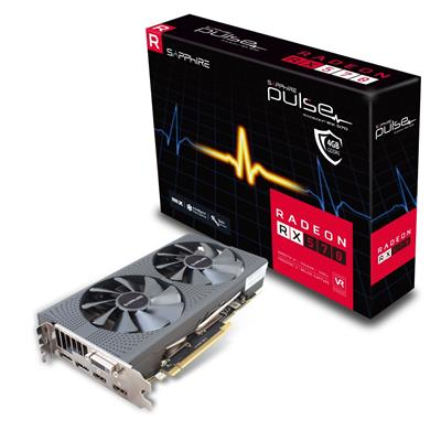 sapphire sapphire radeon rx 570 4gb pulse  - click for full details or buy