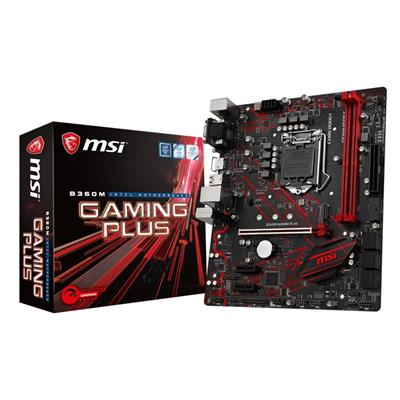 msi msi 1151 b360m gaming plus m-atx  - click for full details or buy