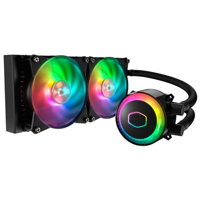 coolermaster cooler master masterliquid ml240r rgb  - click for full details or buy