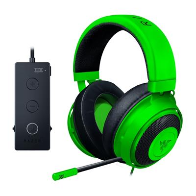 razer razer kraken tournament edition green  - click for full details or buy