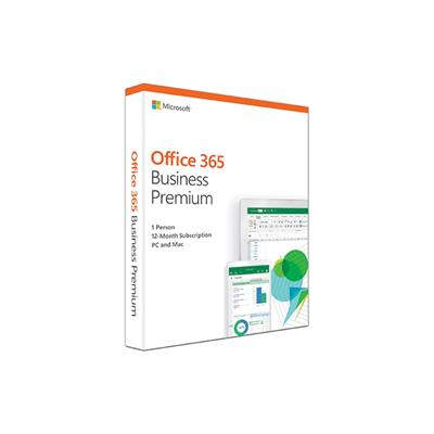microsoft office 365 business premium 2019 1 yr/1u  - click for full details or buy
