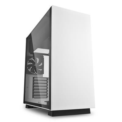 sharkoon sharkoon case pure steel white  - click for full details or buy