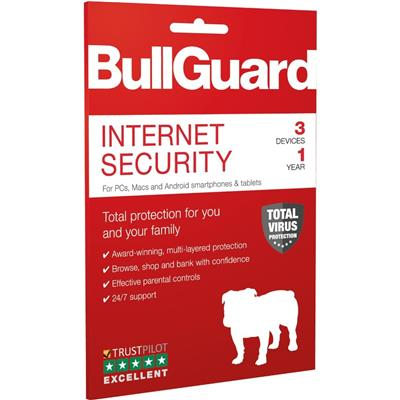 bullguard bullguard bg1912 internet 2019 1y/3d  - click for full details or buy