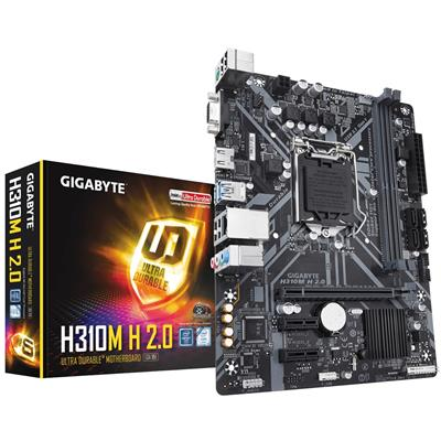 gigabyte gigabyte 1151 h310m h 2.0 h m-atx  - click for full details or buy