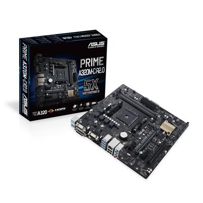 asus asus am4 prime a320m-c r2.0 m-atx  - click for full details or buy
