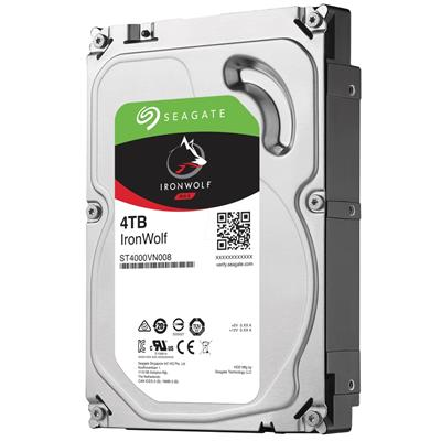 seagate seagate ironwolf 3.5 4tb sata3 nas hdd  - click for full details or buy