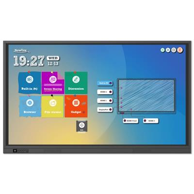 newline newline 75 interactive display rs 4k  - click for full details or buy