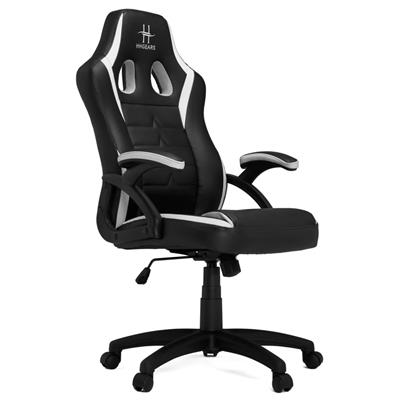 hhgears hhgears sm-115 gaming chair black/white  - click for full details or buy