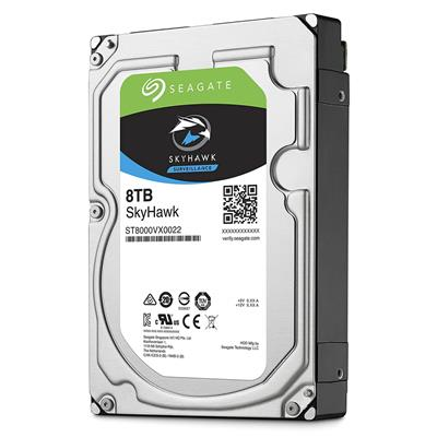 seagate seagate skyhawk 3.5 8tb sata3 hdd  - click for full details or buy