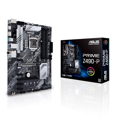 asus asus 1200 prime z490-p  - click for full details or buy