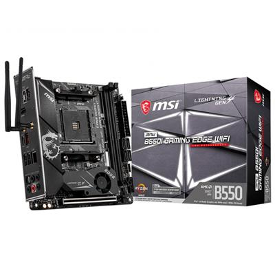 msi msi am4 mpg b550i gaming edge wifi m-itx  - click for full details or buy