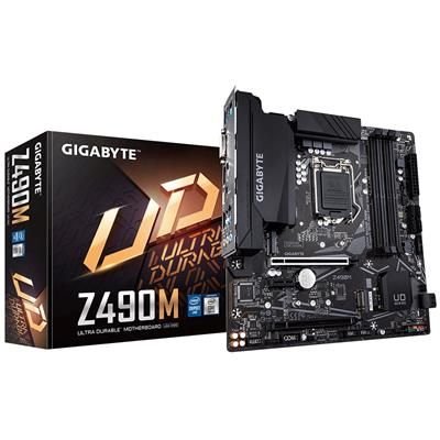 gigabyte gigabyte 1200 z490m m-atx  - click for full details or buy