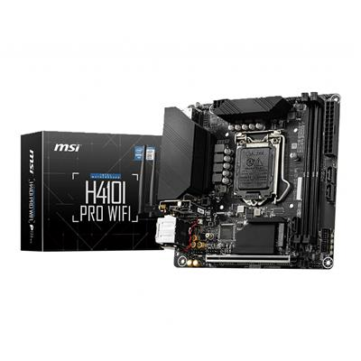 msi msi 1200 h410i pro wifi m-itx  - click for full details or buy